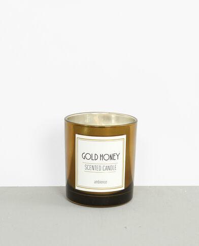 Gold honey'-geurkaars goudkleurig