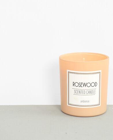 Rosewood'-geurkaars roze