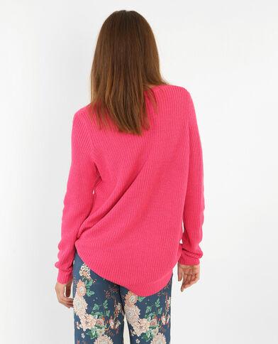 Basic trui roze