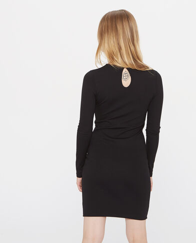 Robe moulante noir