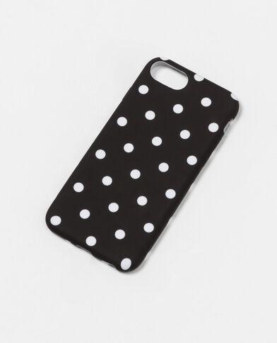 Smartphonehoesje geschikt voor iPhone 7 zwart