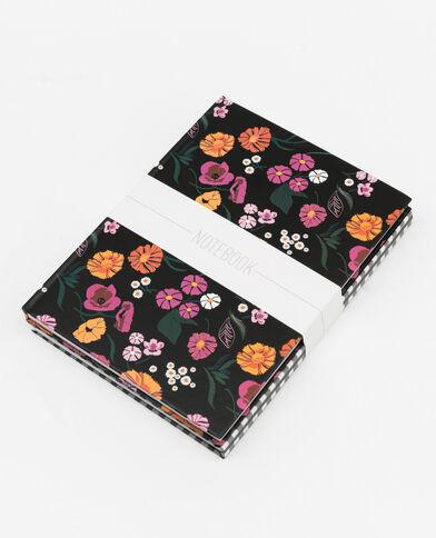Lot de 2 notebooks noir
