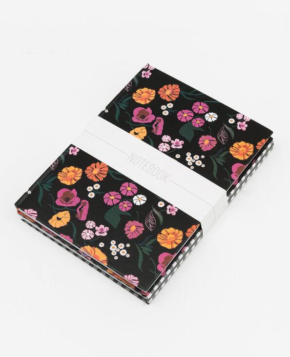 Set van 2 notitieboekjes zwart