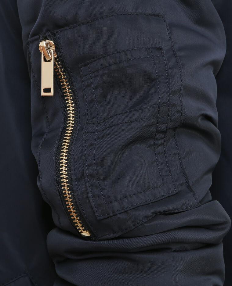 Bomber vestje marineblauw