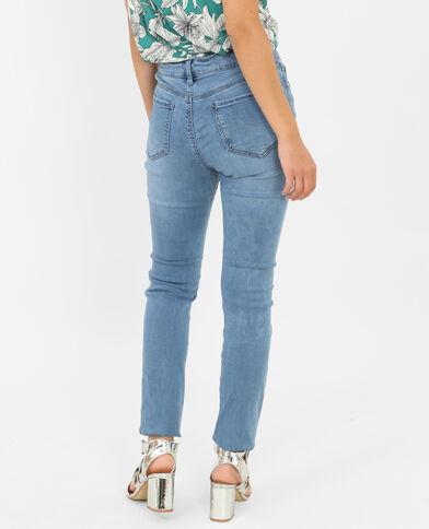Skinny jeans denimblauw