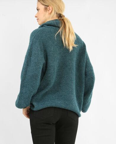 XL-trui eendenblauw