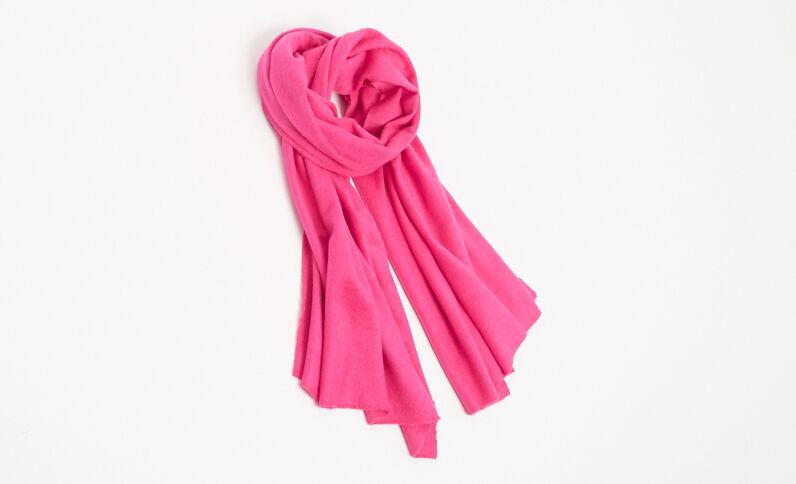 Zachte sjaal roze