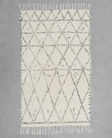 Zacht tapijt in Berberstijl ecru