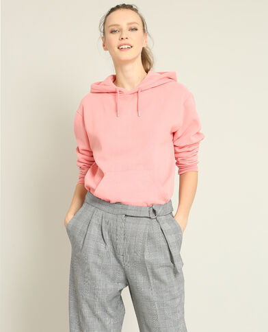 Basic sweater roze