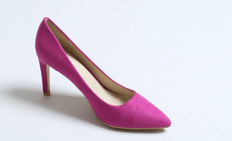 Escarpins pointus violet