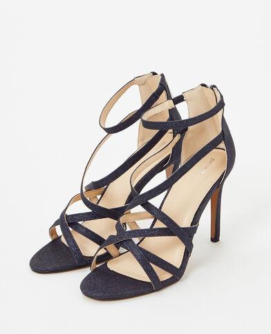 Sandalen met naaldhakken blauw