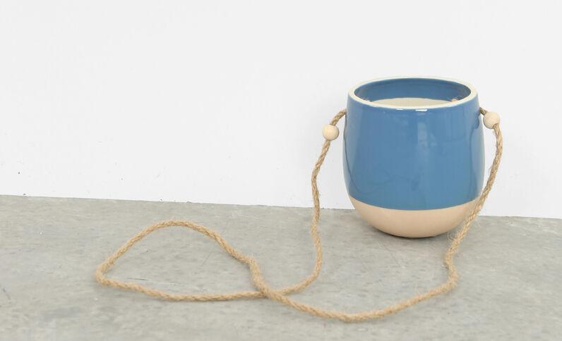 Hangpot blauw