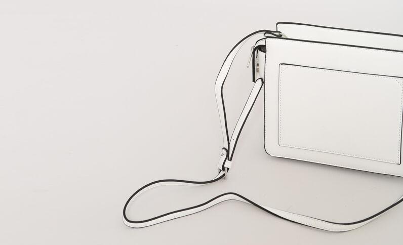 Boxy-tas gebroken wit