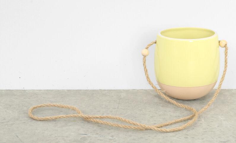 Hangpot Fluor geel