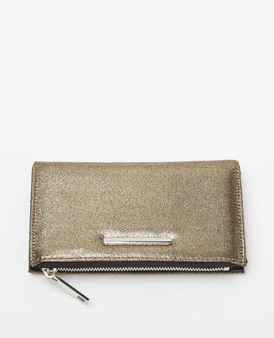 Kleine portefeuille grijs