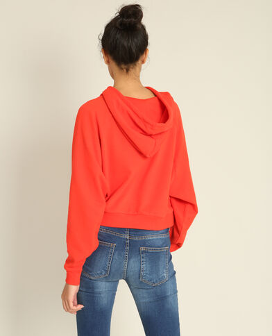 Korte sweater rood