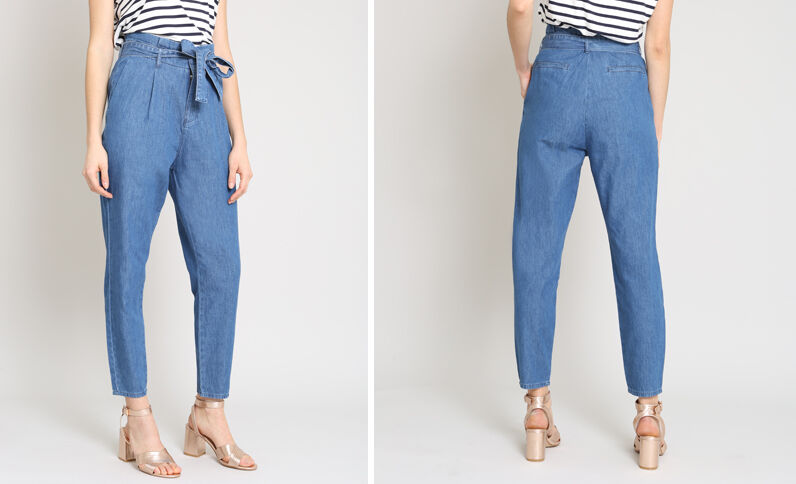 Pantalon city bleu
