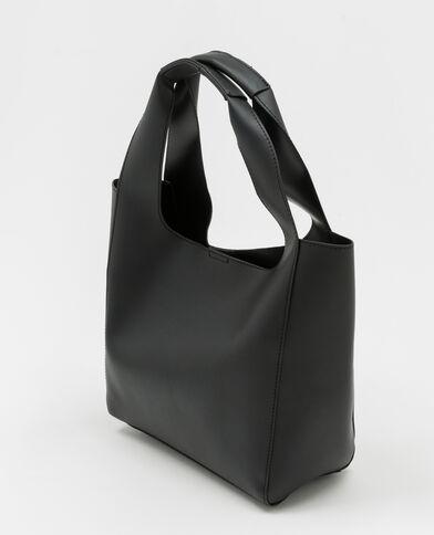 Shopper souple noir