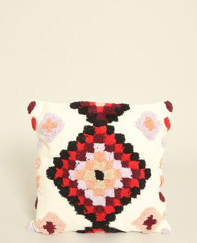 Kleurrijke kussenhoes rdzawy