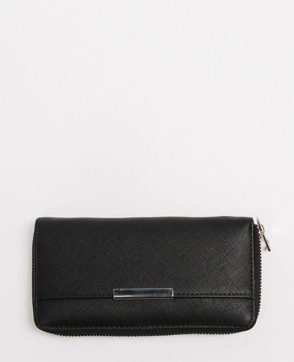 Lange portefeuille zwart
