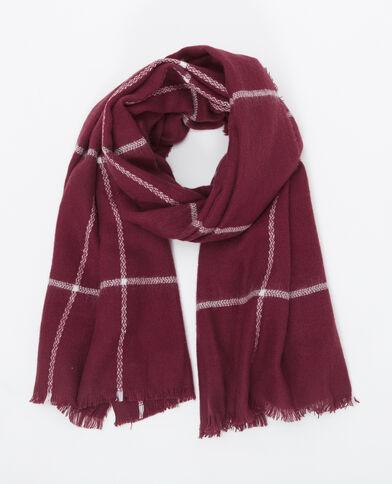 Grote sjaal pruim