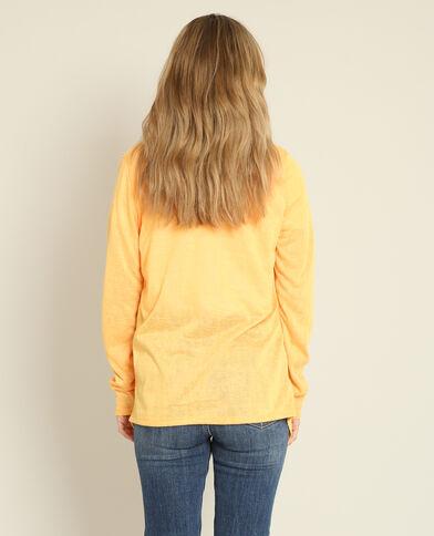 Gilet fin Orange