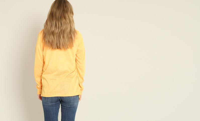 Dun vestje oranje
