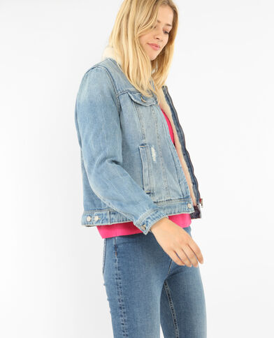 Jeansjack denimblauw