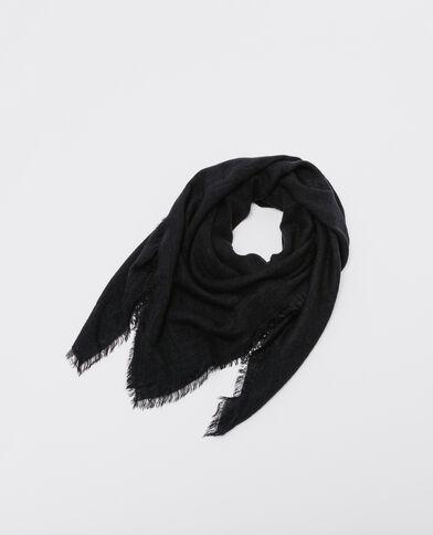 Dunne sjaal zwart