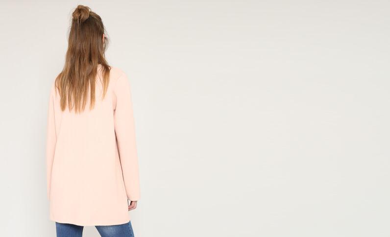 Recht vest roze