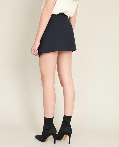 Jupe short bleu marine