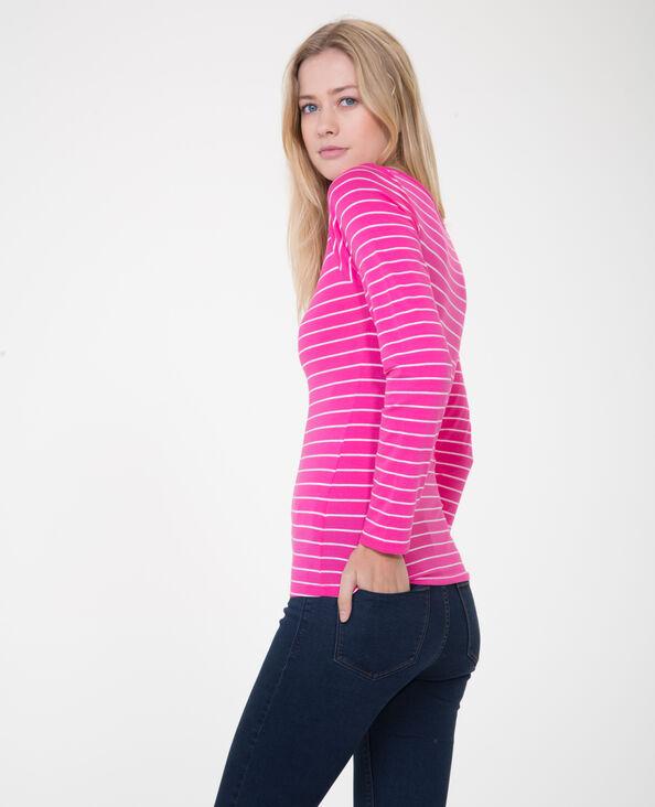 Basic T-shirt roze