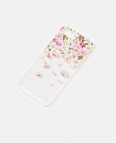 Couple souple compatible iPhone 7 rose