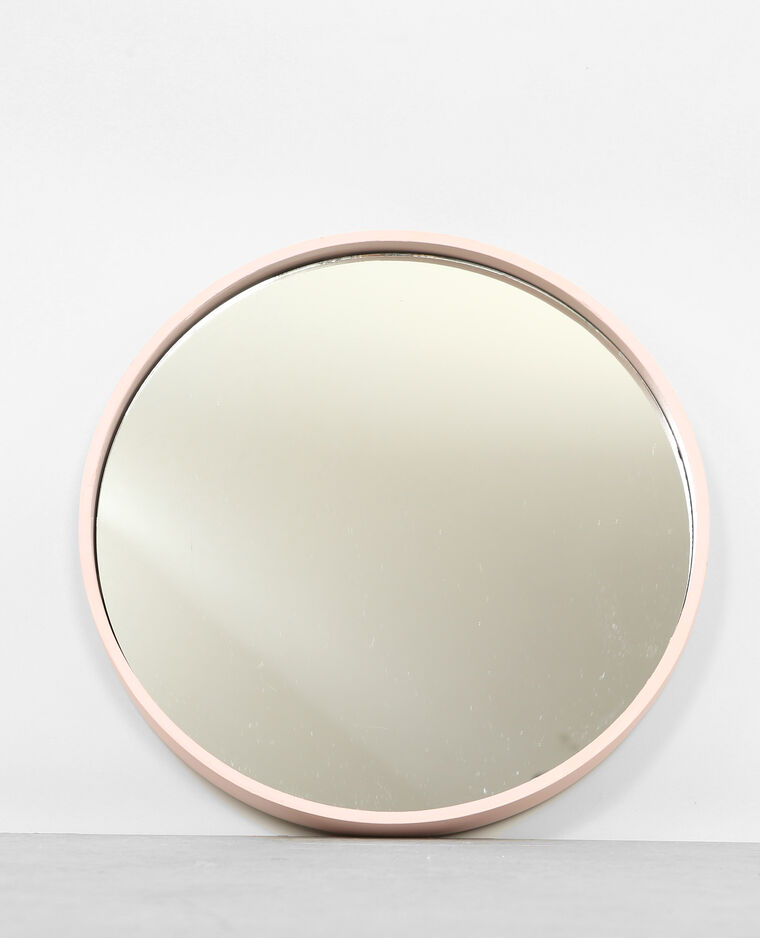 Grand miroir rond rose 907162289a02 pimkie for Grand miroir rond