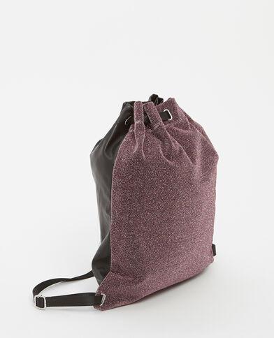 Grand sac à dos violet