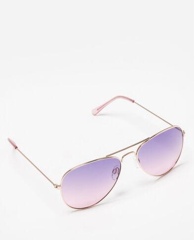 Pilotenzonnebril roze