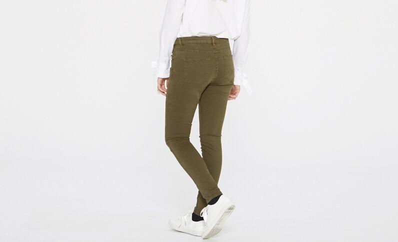 Pantalon skinny vert