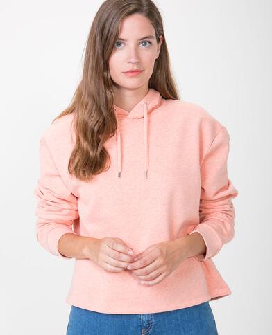 Korte sweater oranje