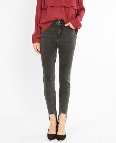 Stirrup jeansbroek zwart