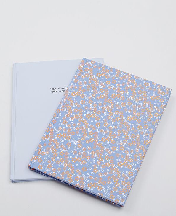 Set van 2 notitieboekjes blauw