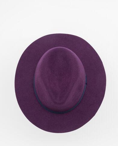 Fedora bicolore violet