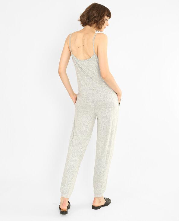 Combi-pantalon toute douce gris