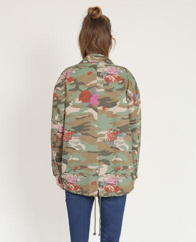 Veste army camouflage kaki