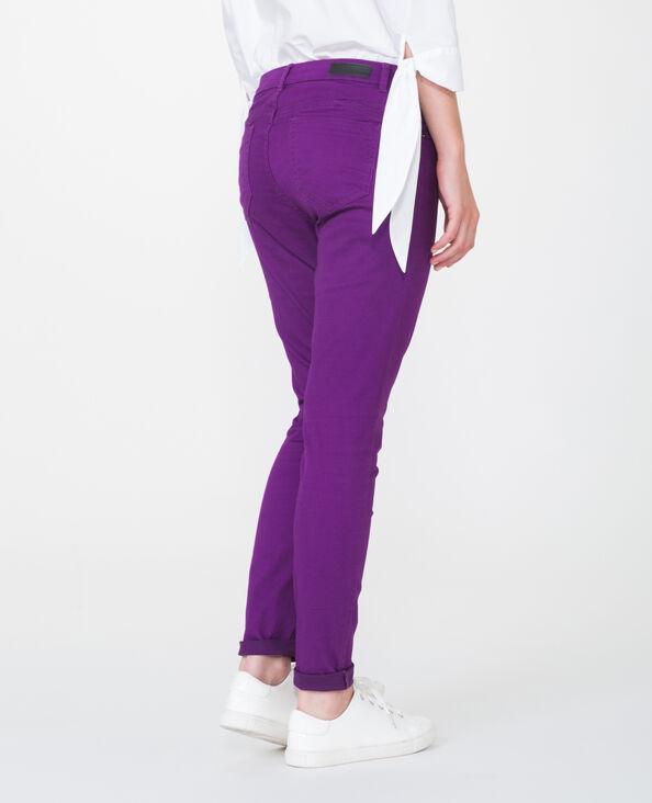 Skinny push up violet