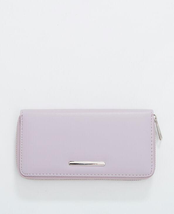 Lange portefeuille vioolpaars