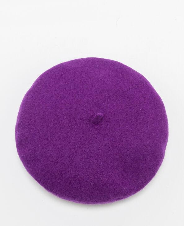 Baret met ringetjes violet