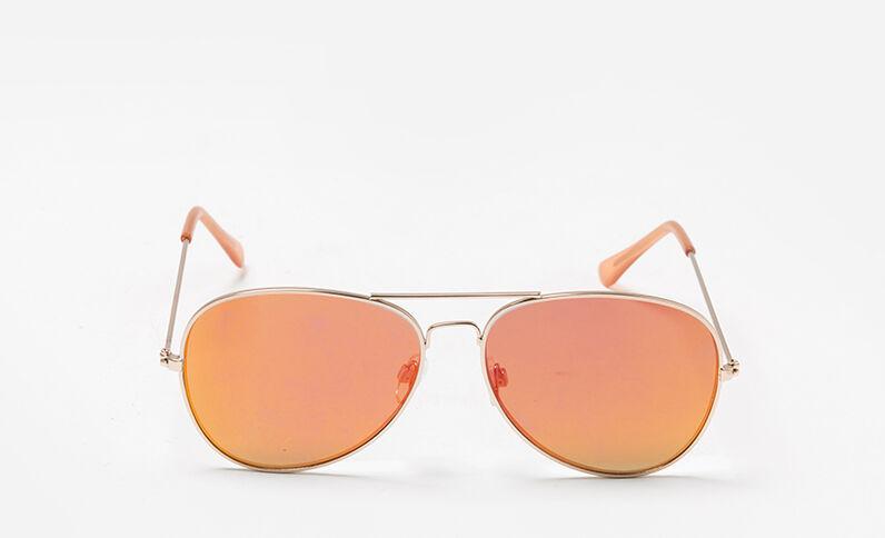 Pilotenzonnebril oranje