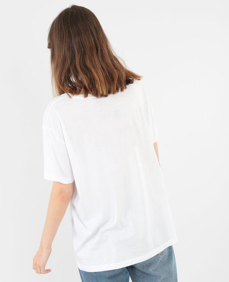 T-shirt collection limitée blanc