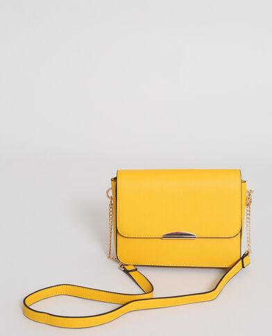 Petit sac boxy jaune