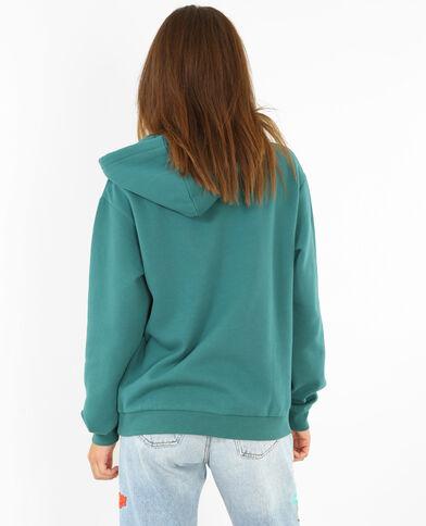 Sweater met capuchon groen